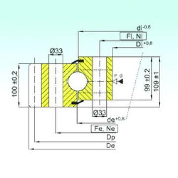 підшипник EB1.50.2355.400-1SPPN ISB