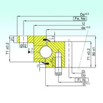 підшипник ZBL.30.1355.200-1SPTN ISB